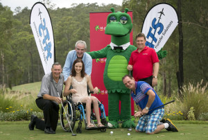 The St George ATS Community Golf Day team