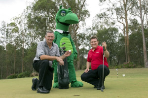 Key event partners Peter Sanders and Ross Gillam are hoping someone wins the Million Dollar Drive